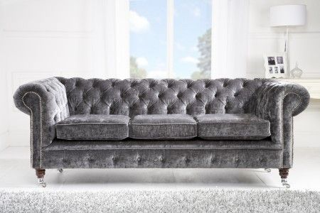 Chesterfield sofa Bed Velvet