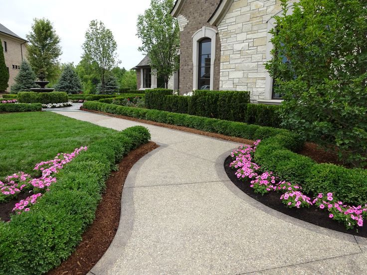 Front Of House Landscape Ideas Curb Appeal Sidewalks