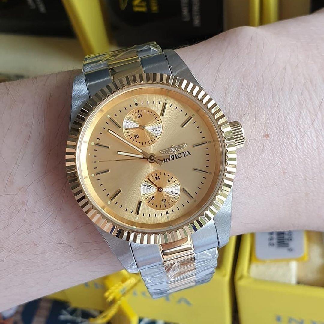 Reloj Dorado Invicta Relojes Dorados Reloj Gucci Reloj Dorado Mujer