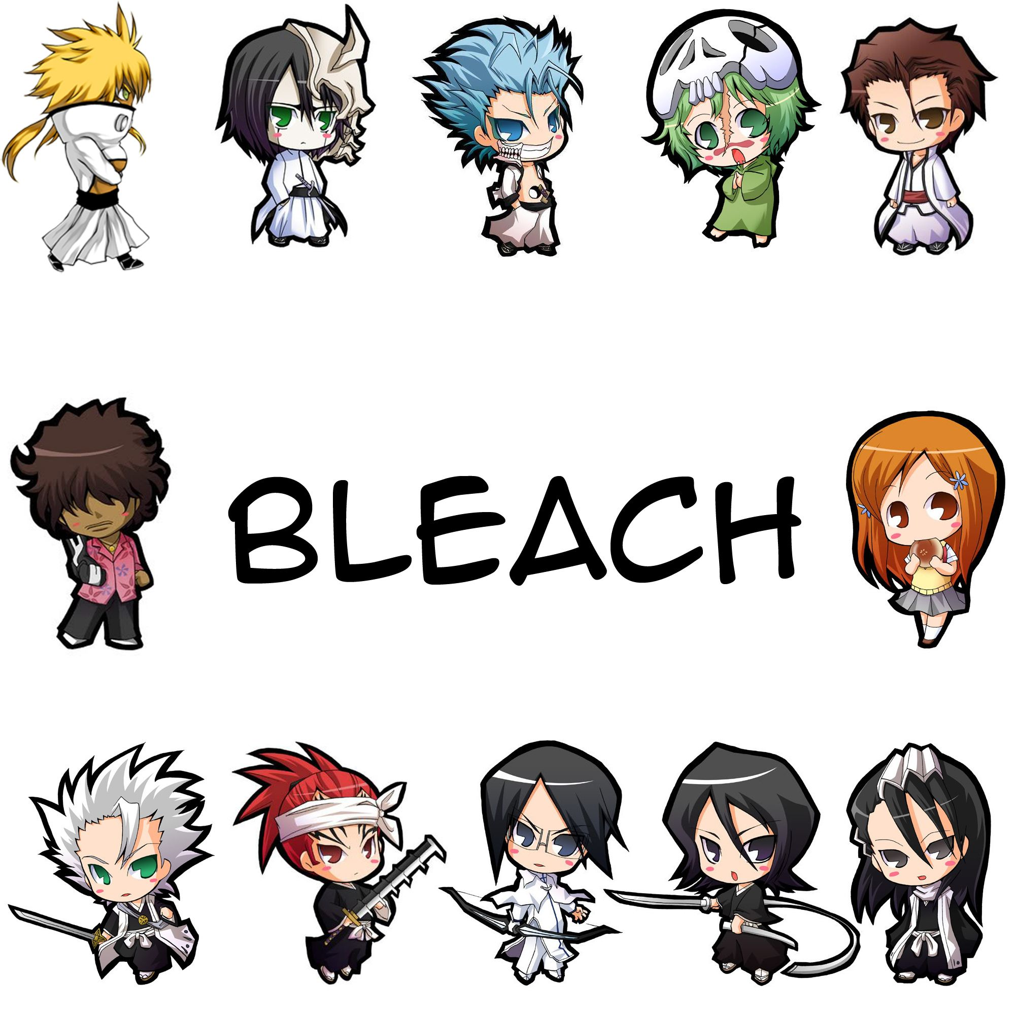 Bleach Anime Characters Chibi Projects Google Search Geek Naruto
