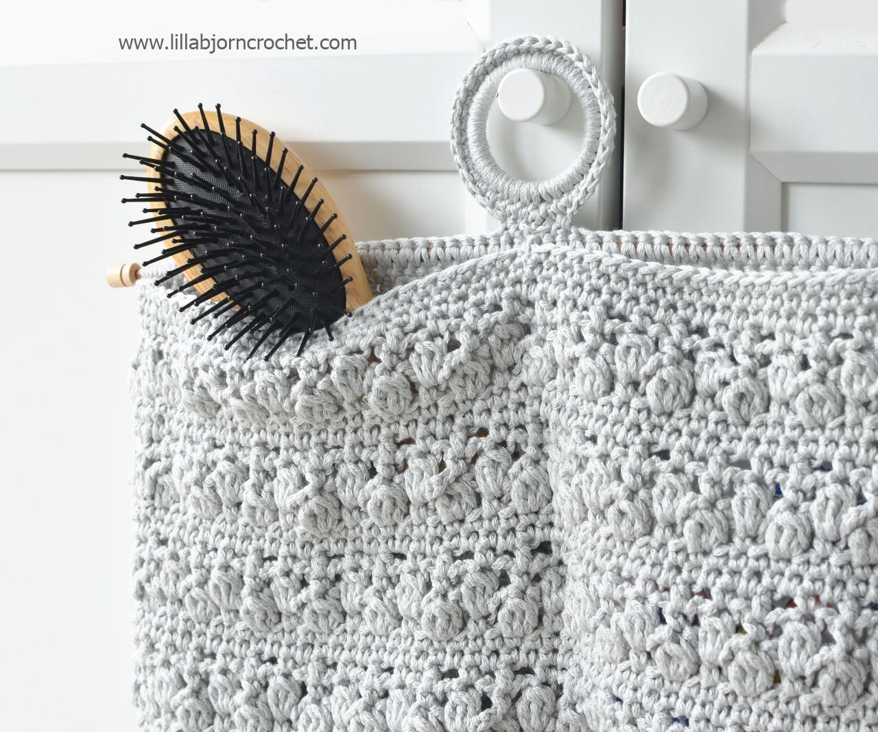 Bathroom Organizer - free crochet pattern by Lilla Bjorn Crochet ...