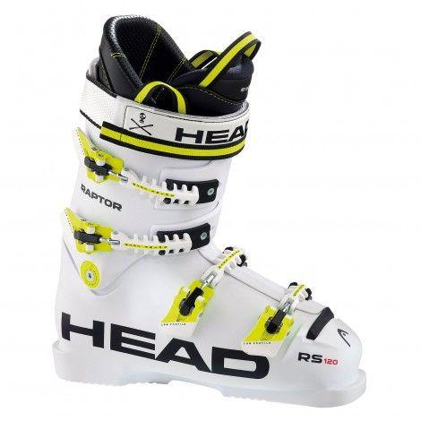 2293368eea6 Head Raptor 120 RS skischoenen white black yellow | Skiën | Pinterest