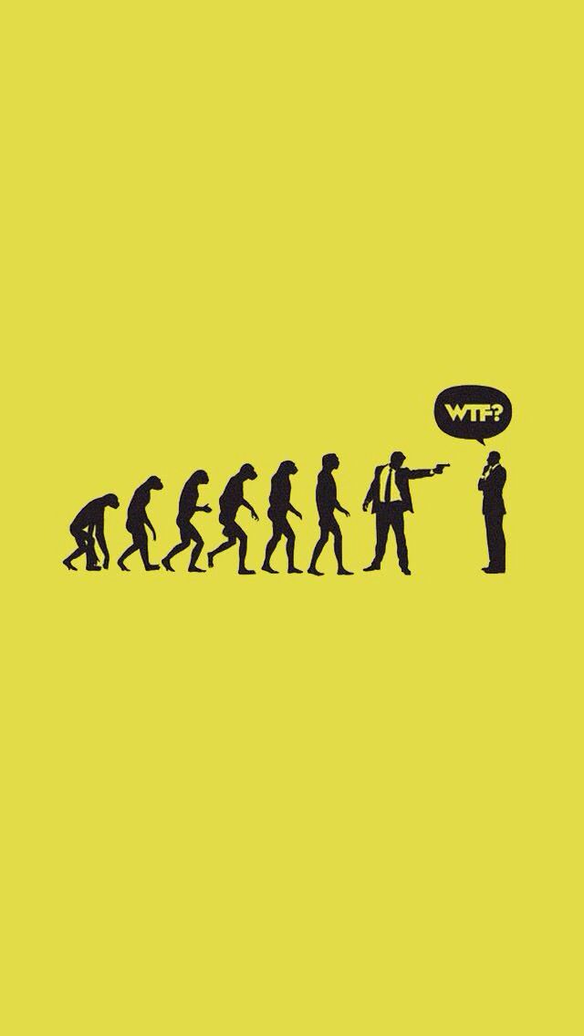Evolution Funny Phone Wallpaper Funny Wallpapers Wallpaper Quotes