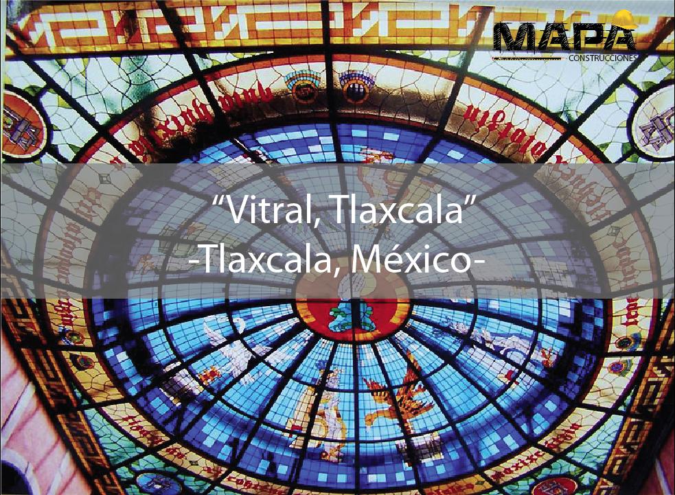 #BuenosDías: Vitral Tlaxcala, plafón de 120m2 en el patio central del Palacio Legislativo #Tlaxcala, fue realizado por el Arq. Ricardo Lemus Kourchenko
