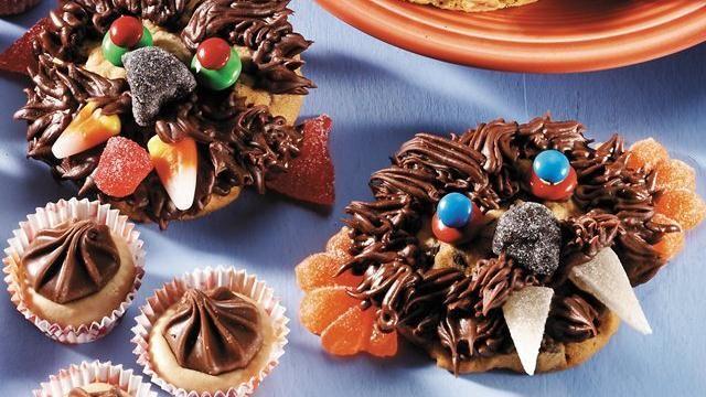 Chocolate Chip Werewolf Cookies Recipe Werewolves, Chocolate and - halloween baked goods ideas