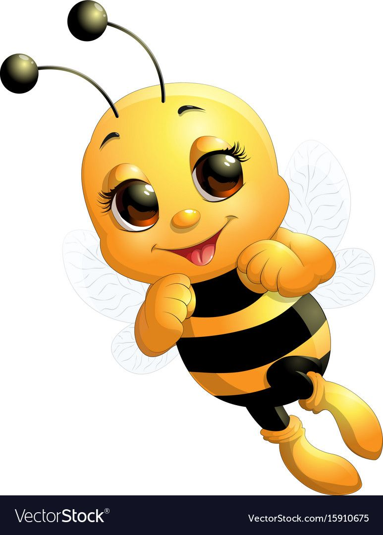 Pin By Claudia On Adorables Cute Bee Bee Pictures Cartoon Bee