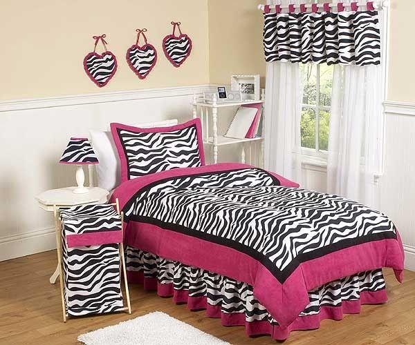 walmart zebra bedsets for twin size bed | Hot Pink Zebra ...