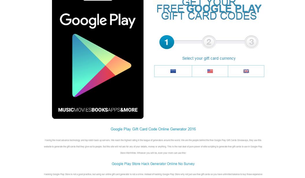 hack google play gift card generator