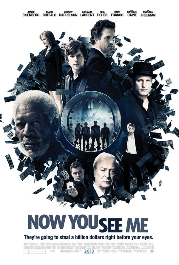 Now You See Me by Anthony Gargasz, via Behance   Movie posters, Good movies,  Love movie