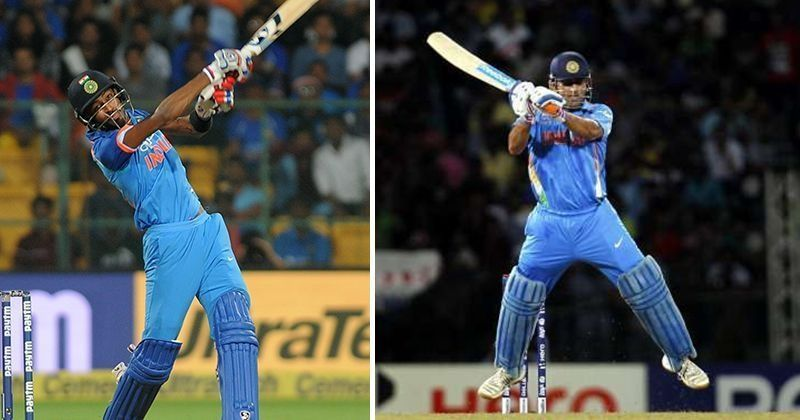 Dhoni Said My Version Of Helicopter Shot Was Better Pandya With Images Chennai Super Kings Mumbai Indians Sayings