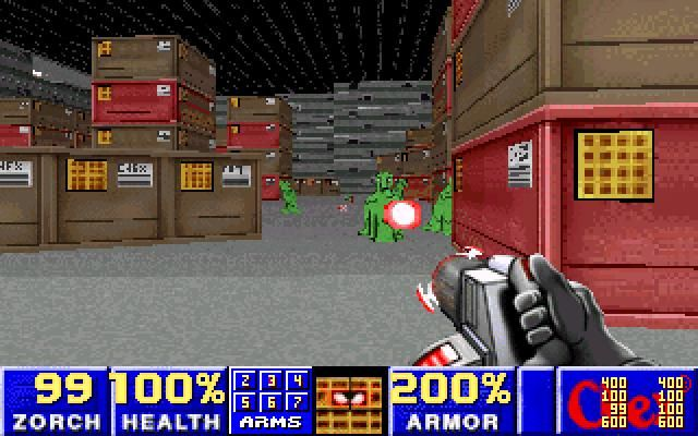 Chex Quest' and advergame based on the Doom engine where the player