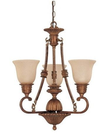 Nuvo Lighting 60 1601 Belvedere Collection 3 Light