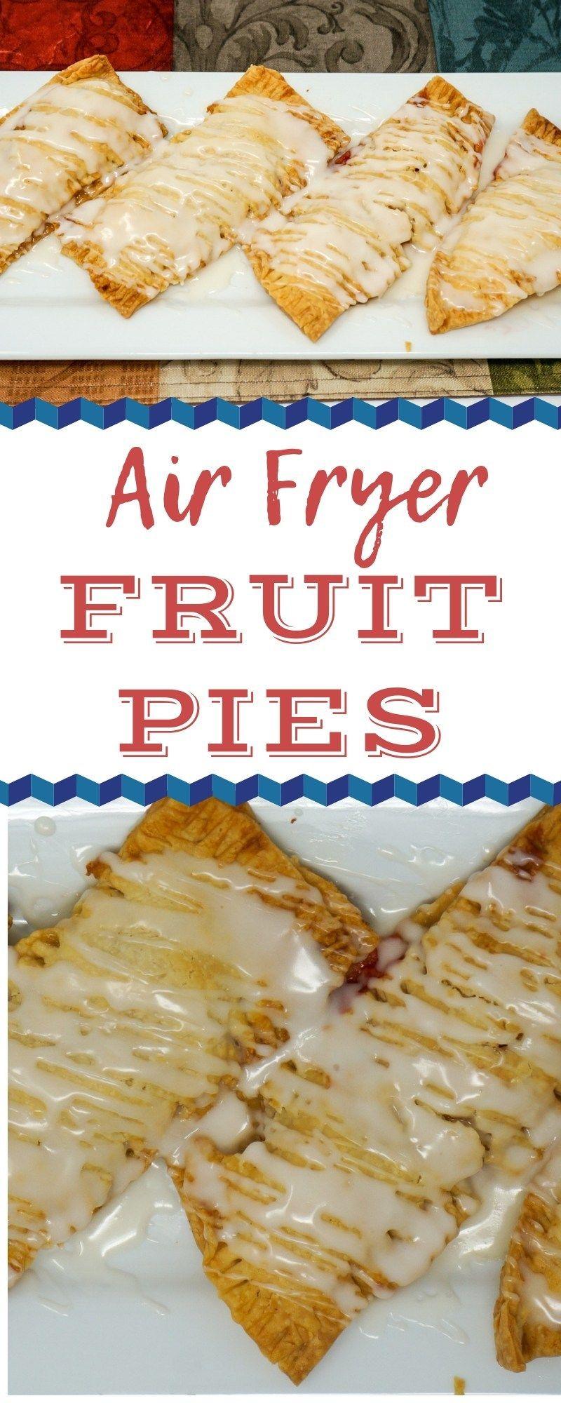 Air Fryer Fruit Pies Recipe Air fryer recipes, Air