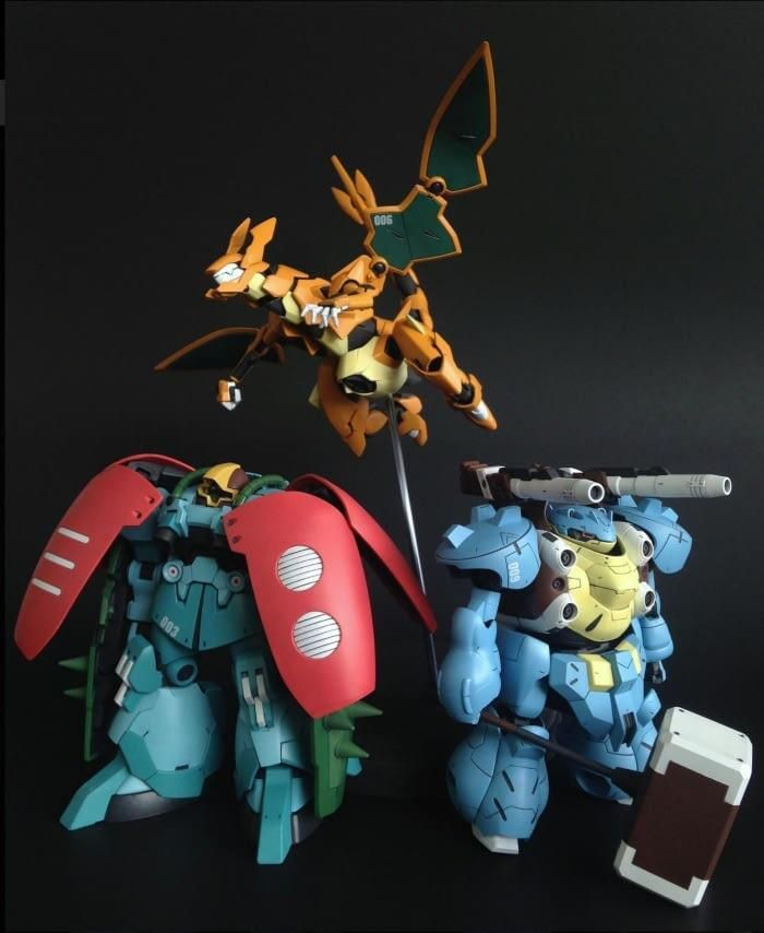 Charizard Venusaur and Blastoise MechStyle! (With images)