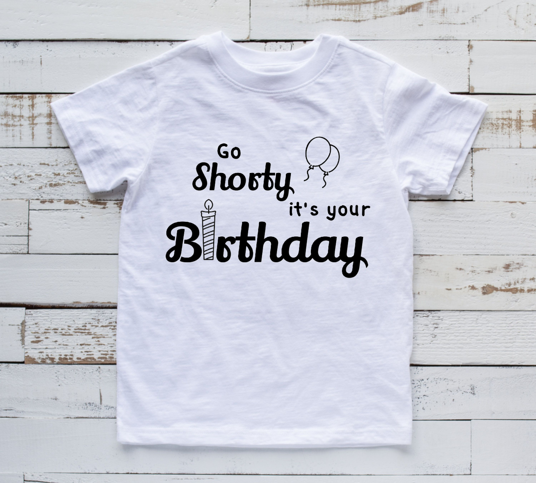 Birthday T Shirt Kids Birthday Children S Birthday Etsy Childrens Birthday Outfits Kids Birthday Kids Tshirts