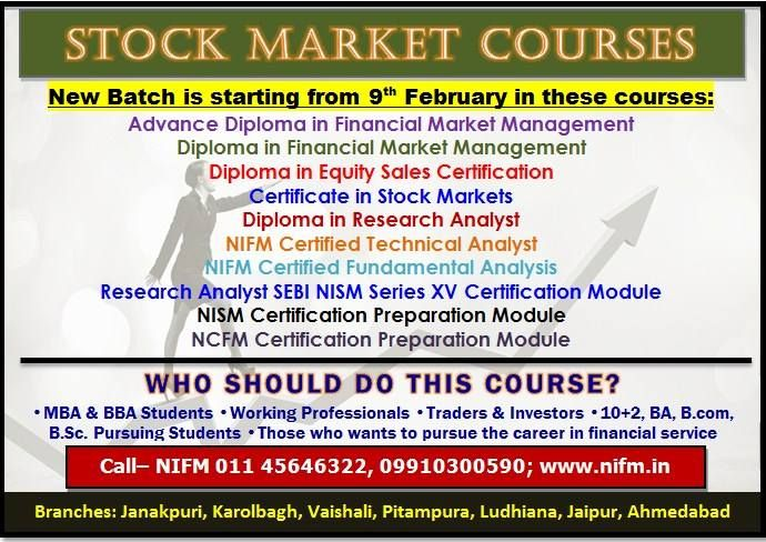 nifm is the no institute for diploma in financial market  nifm is the no 1 institute for diploma in financial market management offers a complete
