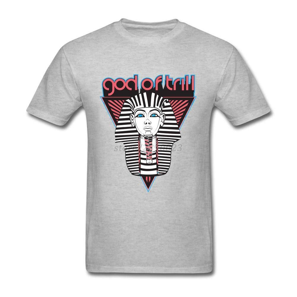 3dd4ed666 Funny T Shirts Male Short Sleeve Cotton Custom God Of Trill Egypt Adult  Clothes Men T-shirts. Yesterday s price  US  22.00 (18.96 EUR).