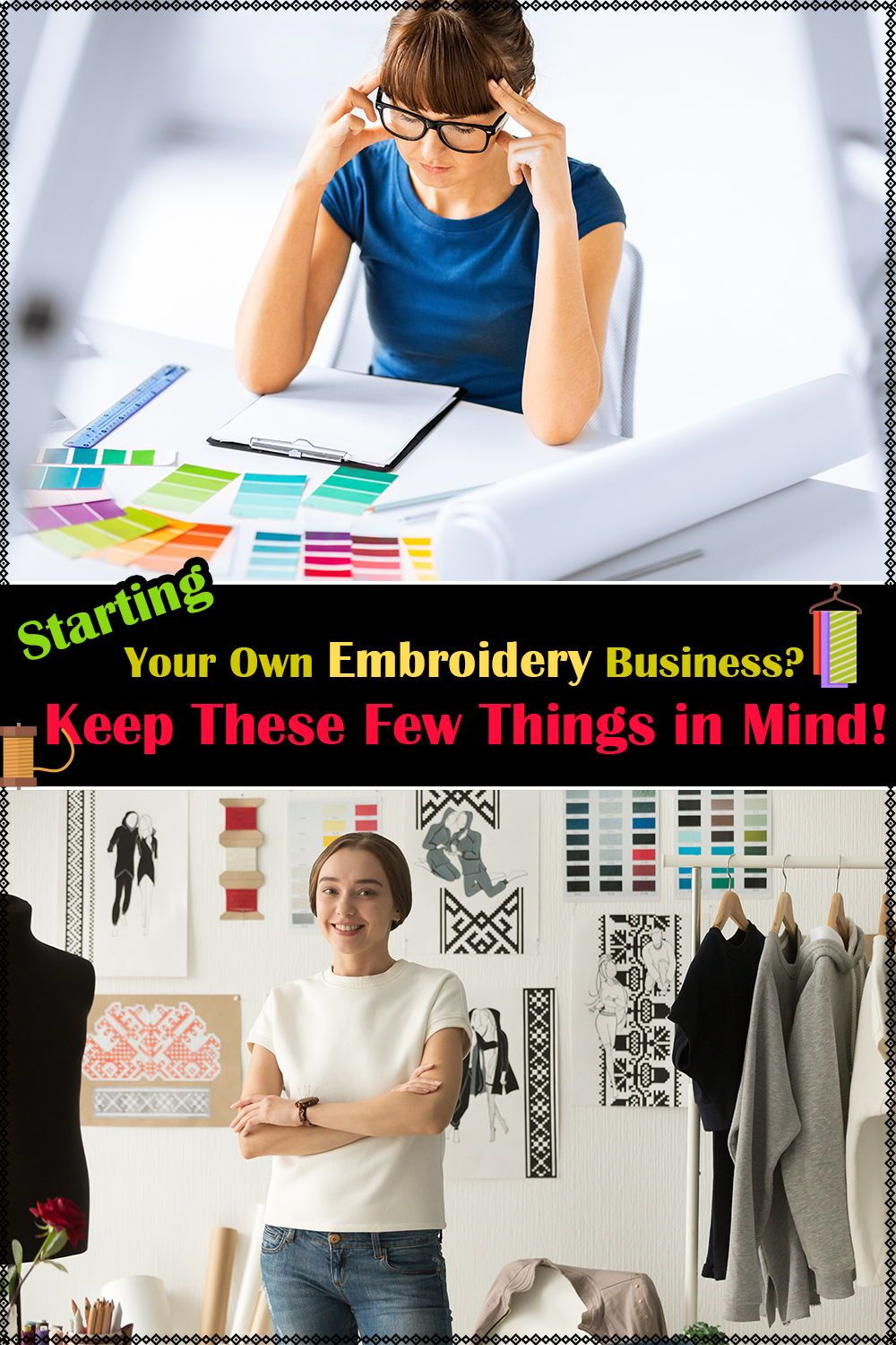 Things to Remember When Starting Your Own Embroidery