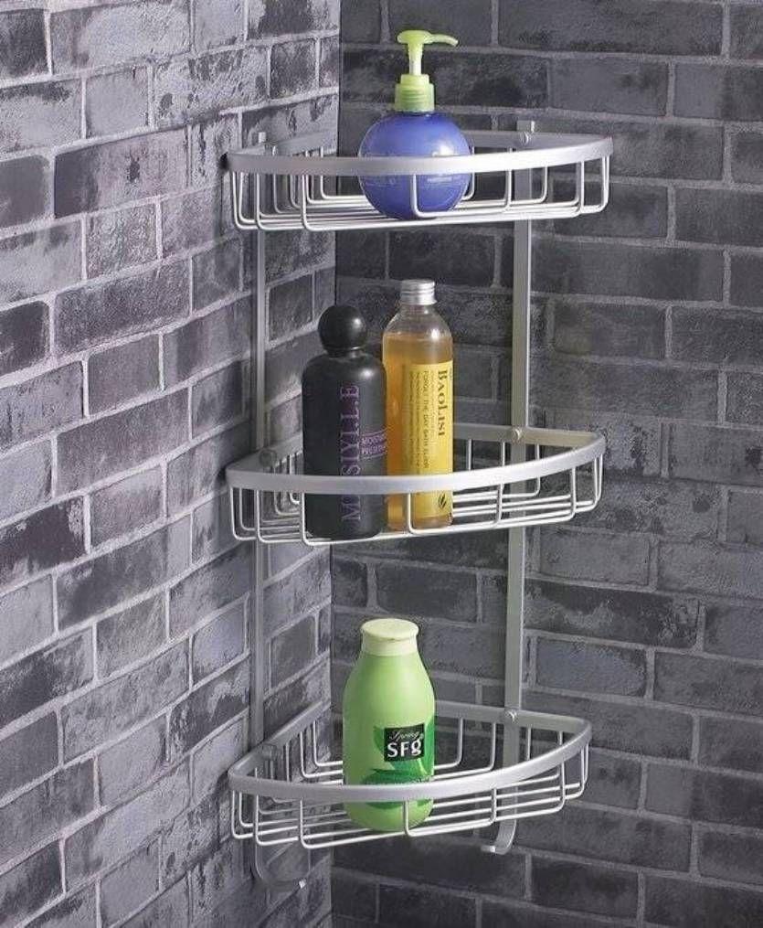 Stainless Steel Bathroom Shelving | Bathroom Decor | Pinterest ...