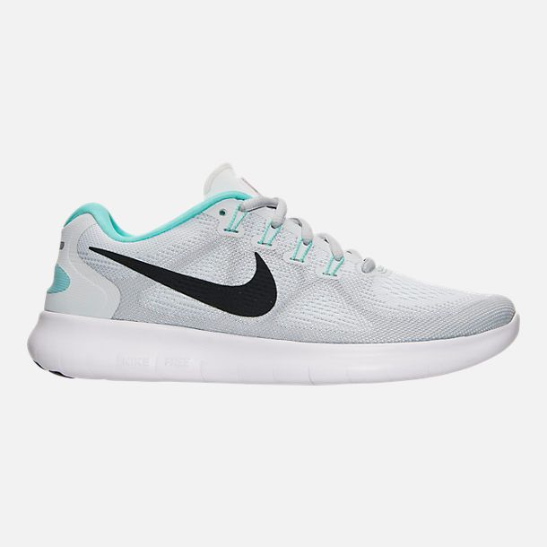 e94a63d35c89 2018 Fashion WOMENS NIKE FREE RN 2017 RUNNING SHOES 880840 103 White  Anthracite Pure Platinum Aurora
