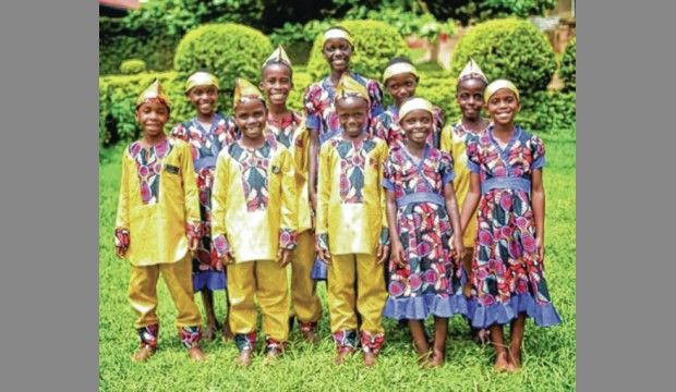 An image of the Ugandan Kids Choir. They will be performing next month in Savannah for the Savannah Black Heritage Festival.