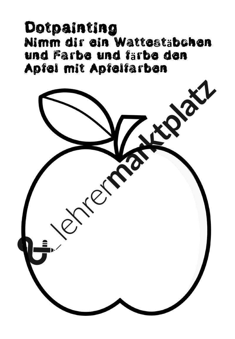 Mein Apfelbuch Unterrichtsmaterial In Den Fachern Fachubergreifendes Kunst Sachunterricht Bucher Unterrichtsmaterial Apfel