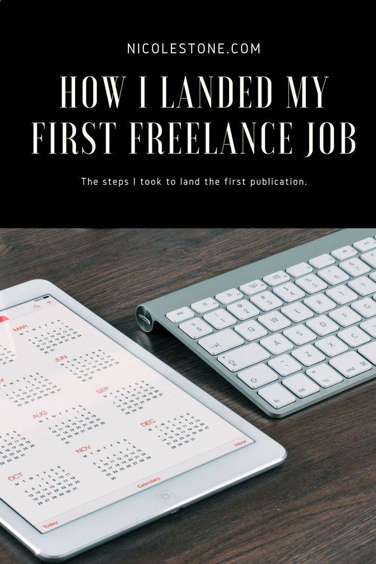 Find your first freelance niche. a freelance writer