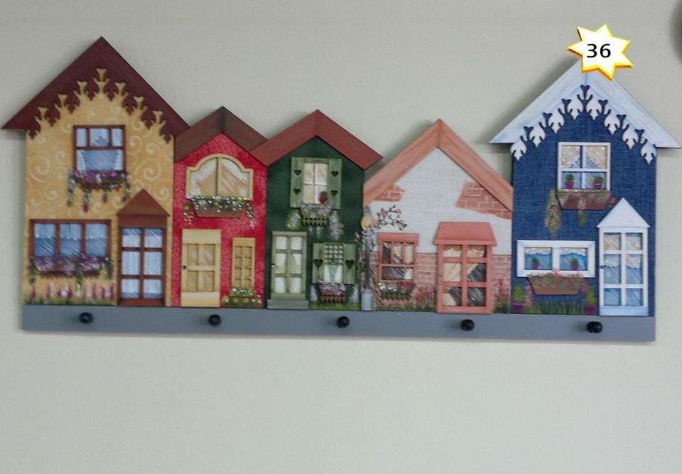 Country madera painting ideas c m p casas pintadas - Fachadas de casas pintadas ...