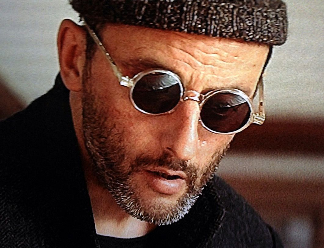 """Jean Reno as Léon from """"Leon"""""""