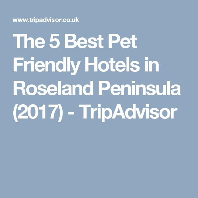 The 5 Best Pet Friendly Hotels In Roseland Peninsula 2017 Tripadvisor