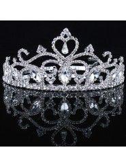 Beauitful Zircons and Rhinestones Wedding Bridal Tiara