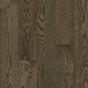 Bruce American Originals Coastal Gray Oak 3 4 In T X 5 In W X Varying L Solid Hardwood Flooring 23 5 Sq Ft Case Shd5623 The Home Depot Red Oak Hardwood Red Oak