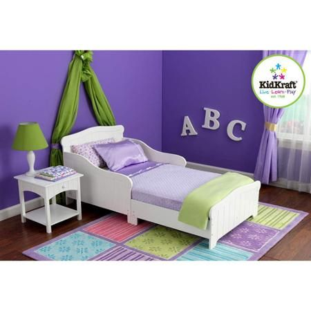 KidKraft   Nantucket Toddler Bed  White   Walmart com   Children Bedroom  FurnitureKids. KidKraft   Nantucket Toddler Bed  White   Walmart com   Toddler
