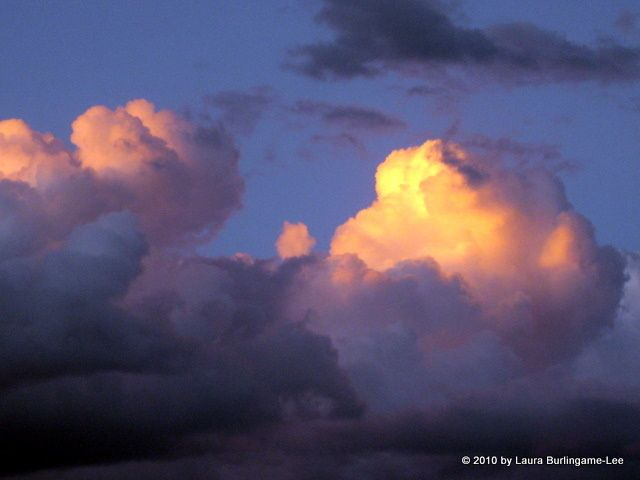 Colorado Sunset clouds