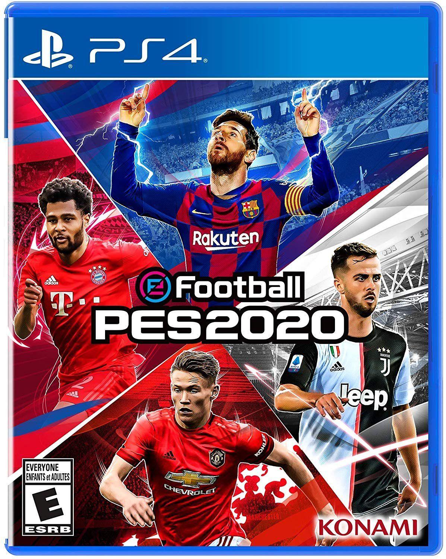 Efootball Pro Evolution Soccer 2020 Ps4 Evolution Soccer Pro Evolution Soccer Konami