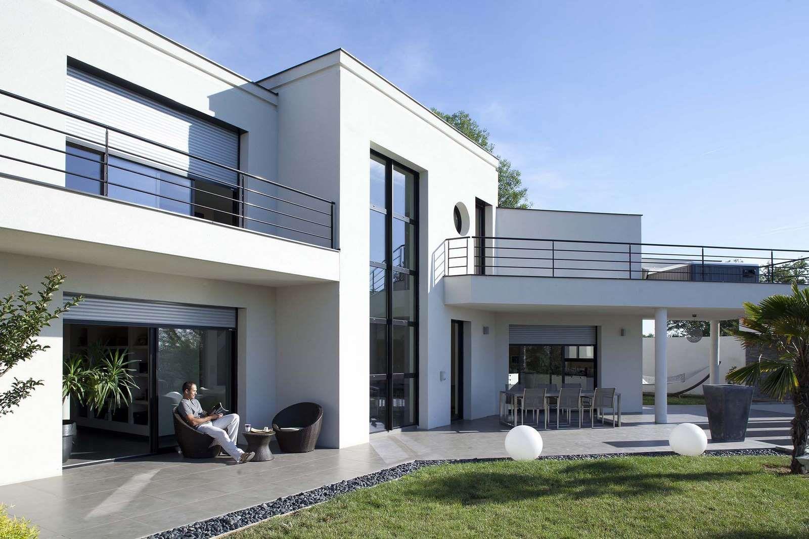 Epic Bauhaus Flachdachhaus Bilder Referenzen NURDA Hausbau Hannover BG Bauhaus Flachdachhaus Fassaden Pinterest Flachdachhaus Bauhaus und Hausbau