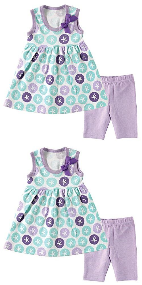 7d7ea8cd7 Hudson Baby Baby Dress and Cropped Legging Set