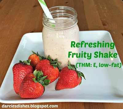 Darcie's Dishes: Refreshing Fruity Shake ~ A delicious and refreshing fruit-filled shake to keep you cool and happy.