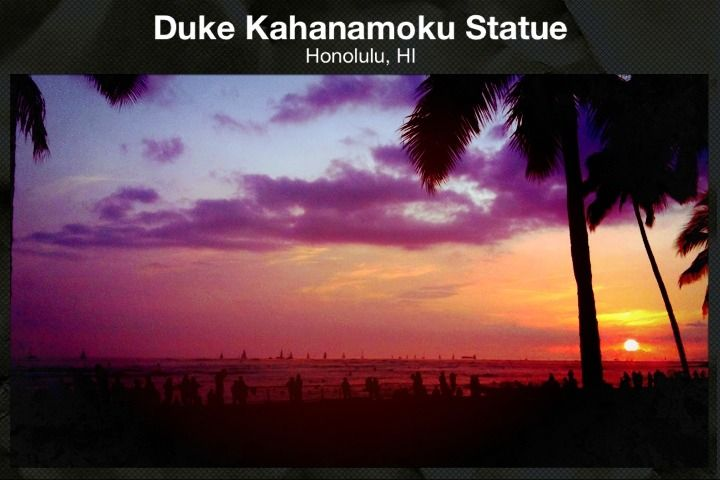 Duke Kahanamoku Statue, Honulolu