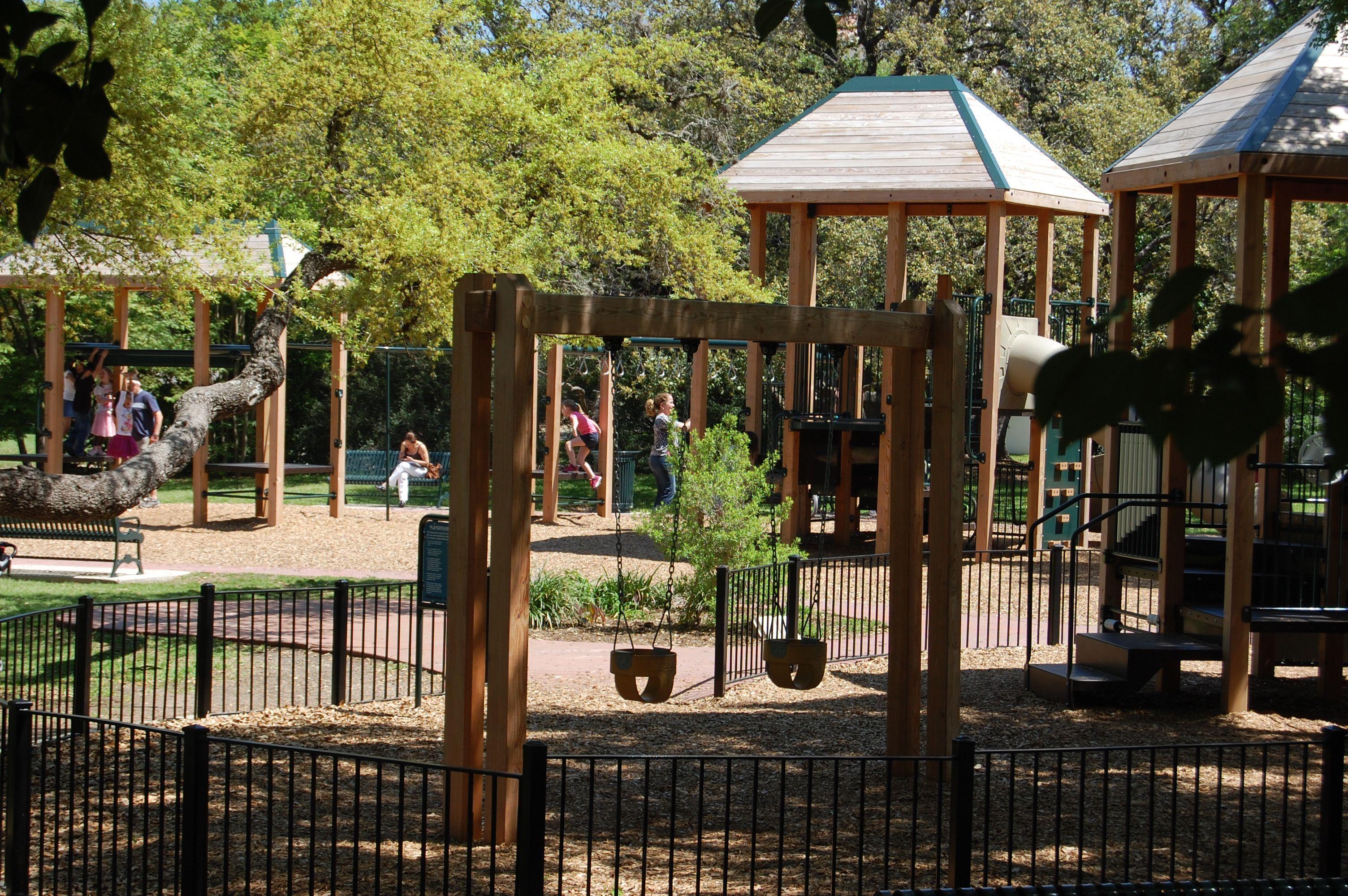 Landa Library Park In San Antonio Texas