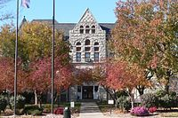 Nemaha County, Nebraska courthouse in Nemaha, Nebraska