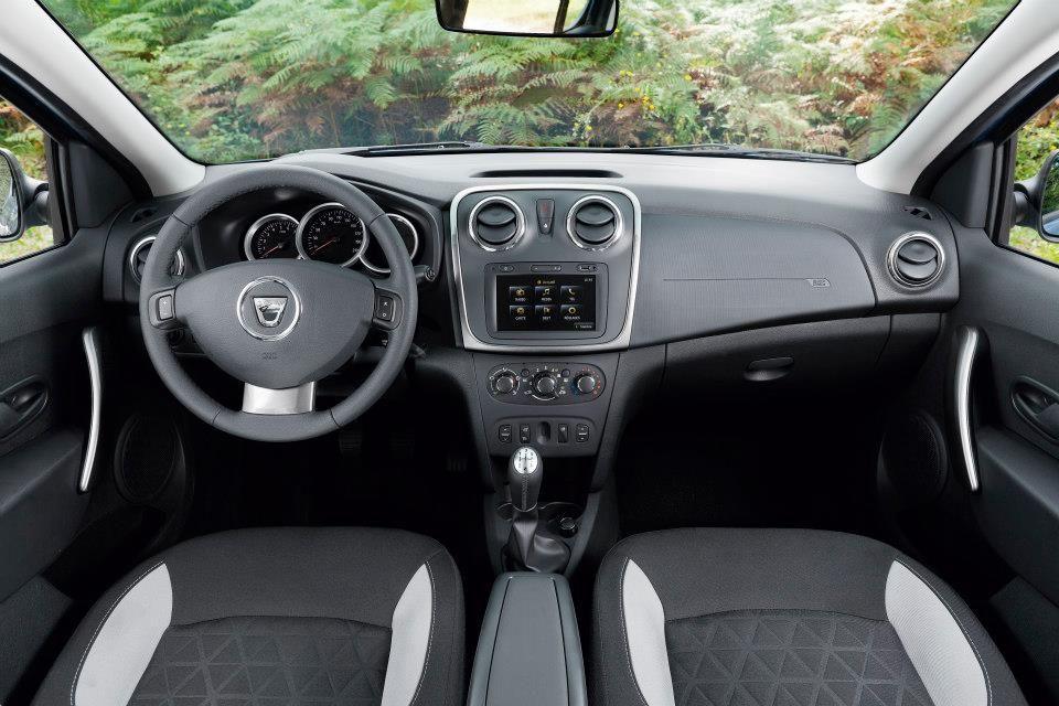 Interior Dacia Sandero Stepway | Dacia Models | Pinterest