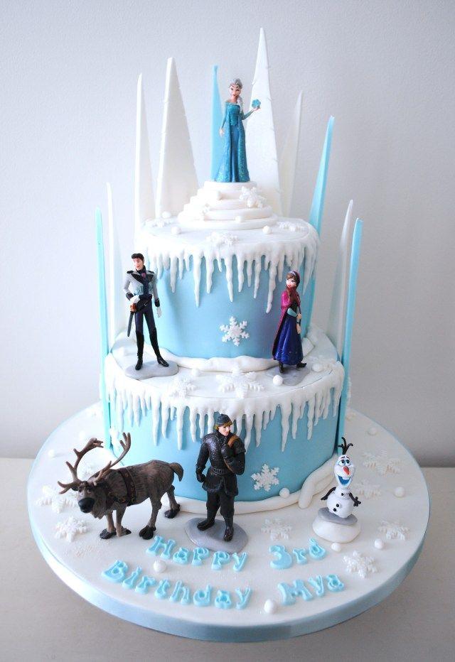 32+ Elegantes Bild von Geburtstagstorte gefroren   – Birthday cakes