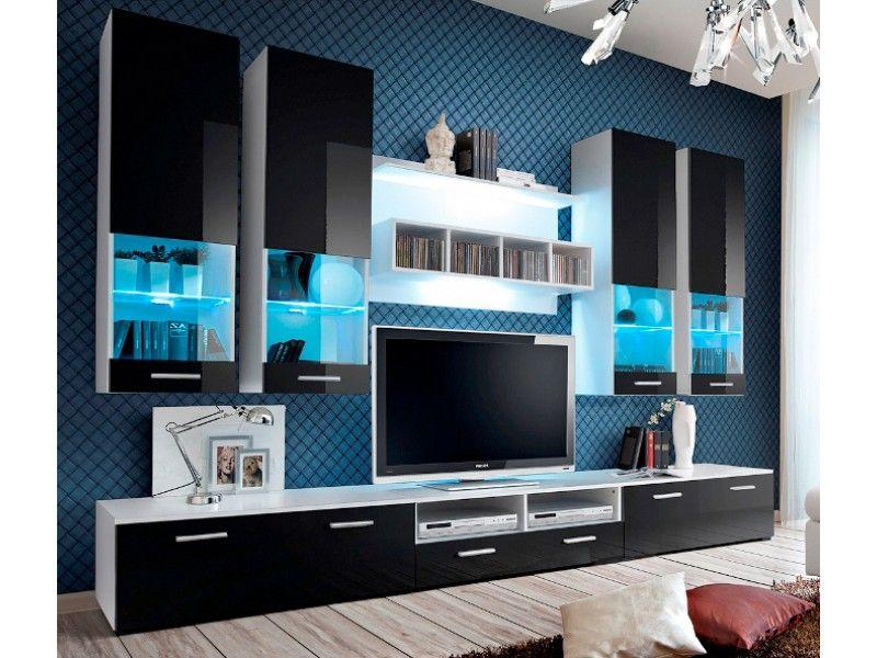Montreal 2 - modern TV Wall Unit | Modern wall units, Modern wall ...