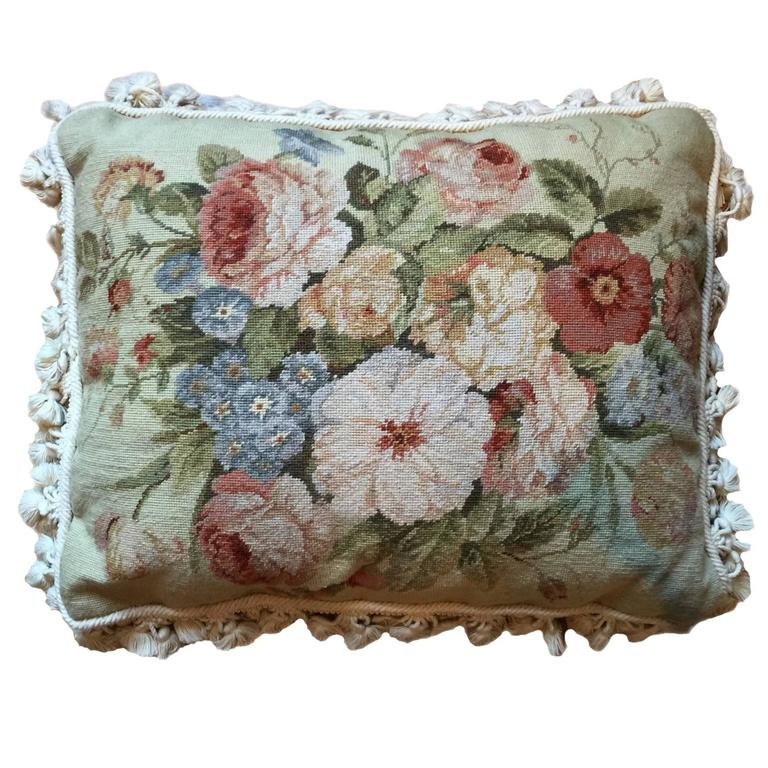Decorative Pillows Vintage French Style Aubusson Pillow Cushion