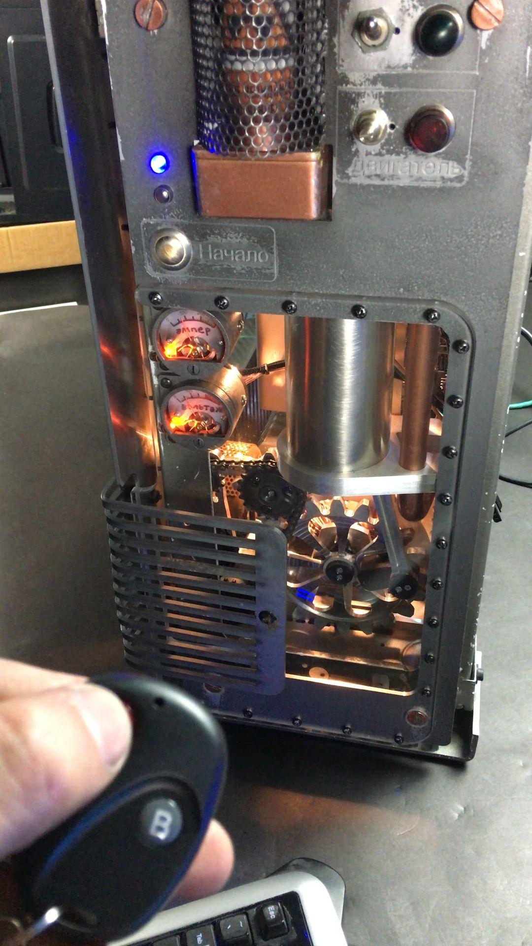 Steampunk RTX 3090 PC Build Case Mod