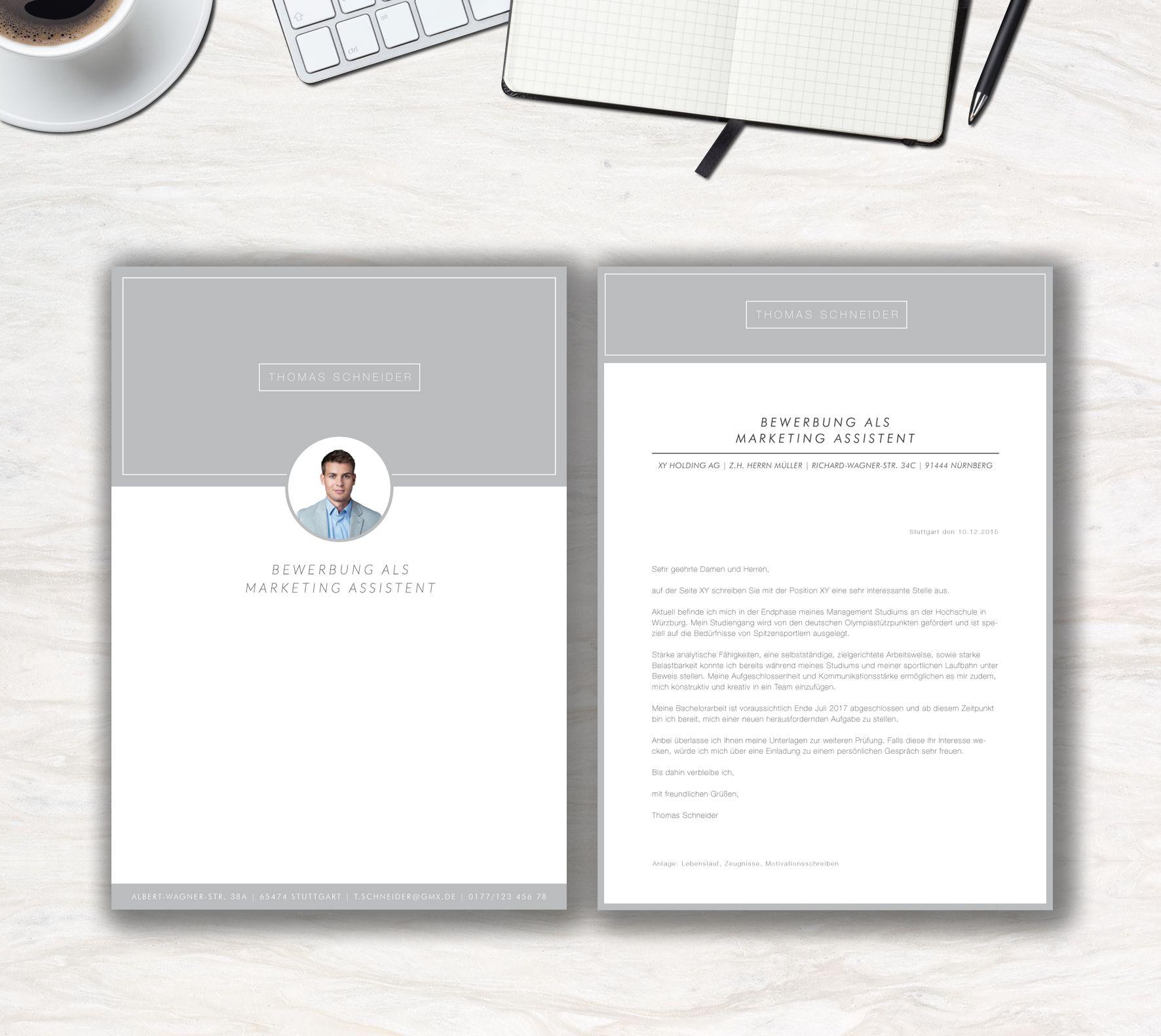 Unsere Bewerbungsvorlage Modern Office In Der Farbe Ice Grey Modern Clean Das Ist Die Aussage Der Bew Lebenslauf Bewerbung Schreiben Bewerbung Lebenslauf