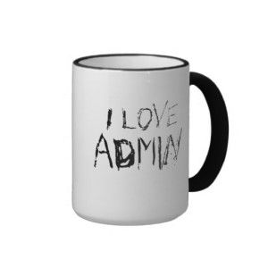 This mug though. #admin