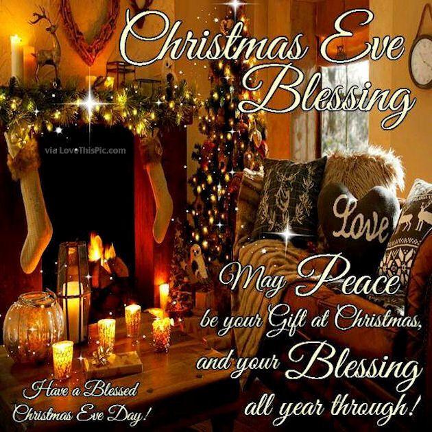 Christmas Eve Blessings Christmas Good Morning Merry Christmas