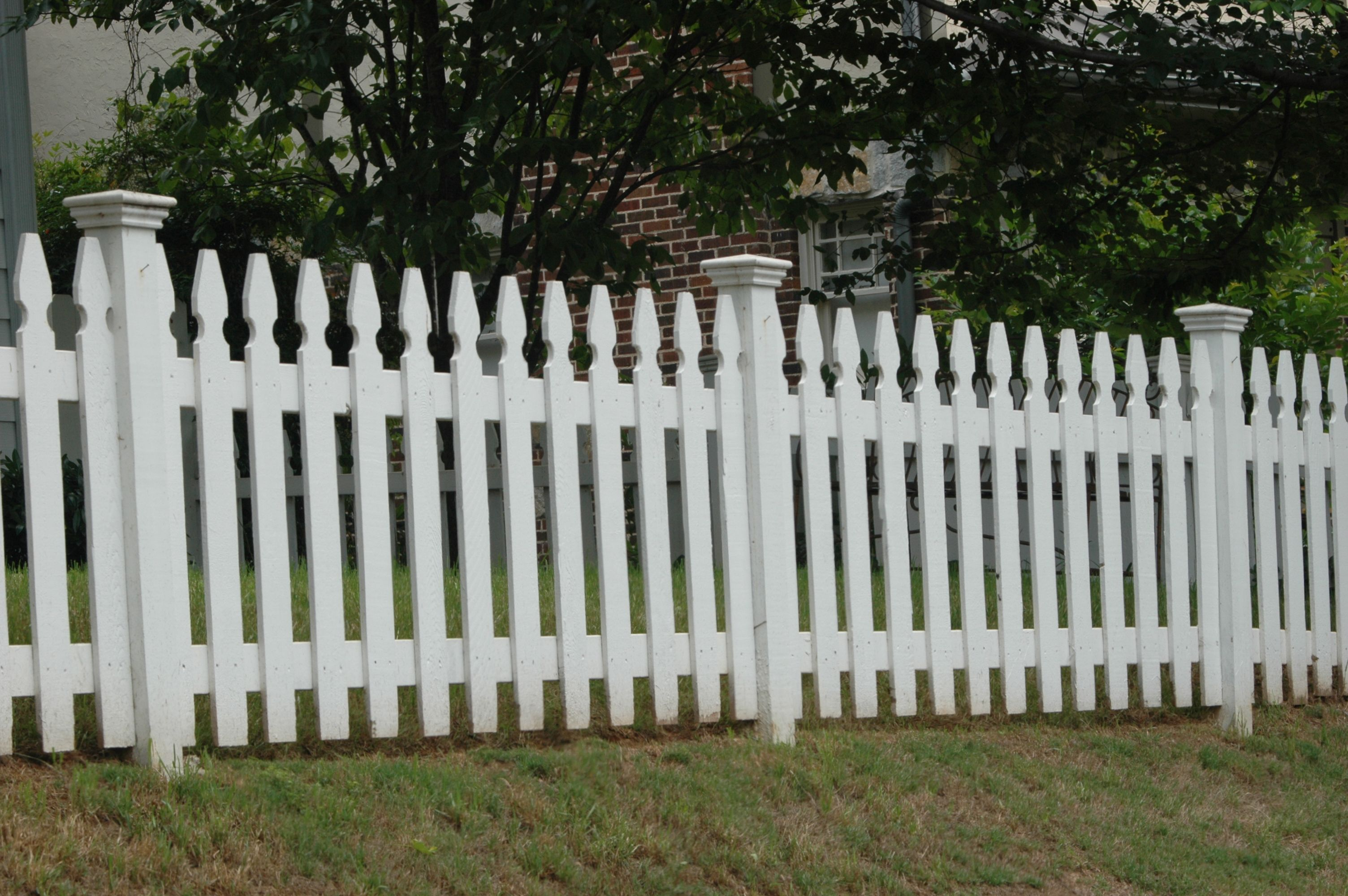 french gothic picket fence imagefencing Pinterest